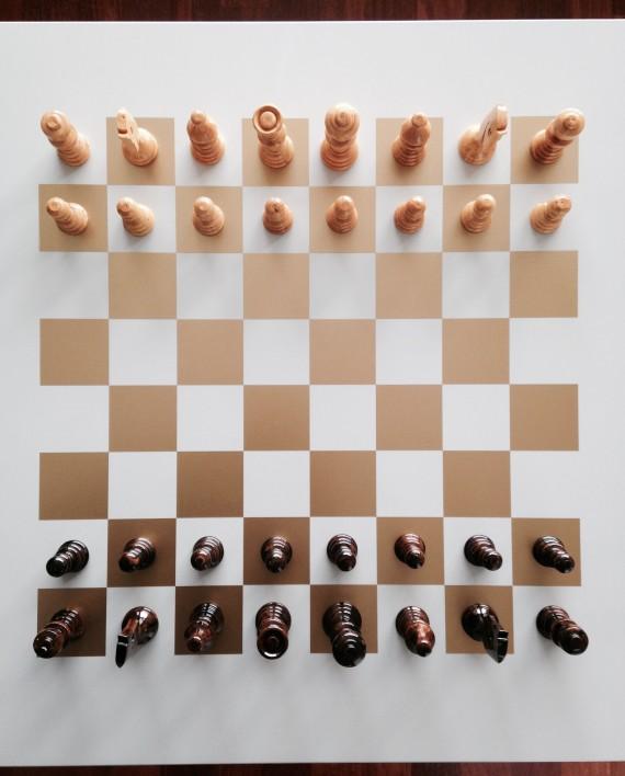 hippe meubelsticker schaakbord / dambord kopen
