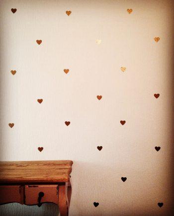 hippe muurstickers hart kopen