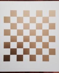 meubelsticker schaakbord / dambord