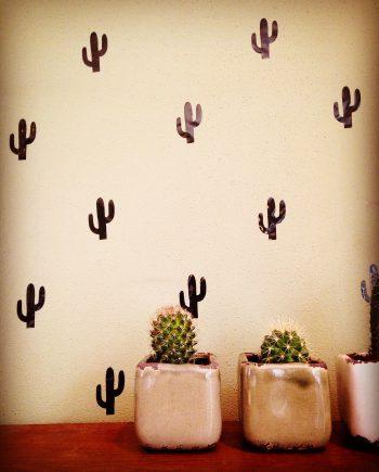 Hippe Muurstickers Cactus kopen