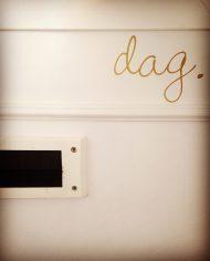 deursticker dag