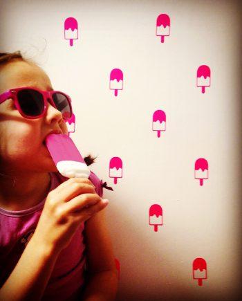 hippe muurstickers popsicle kopen