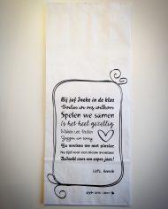 paperbag juf ongevouwen