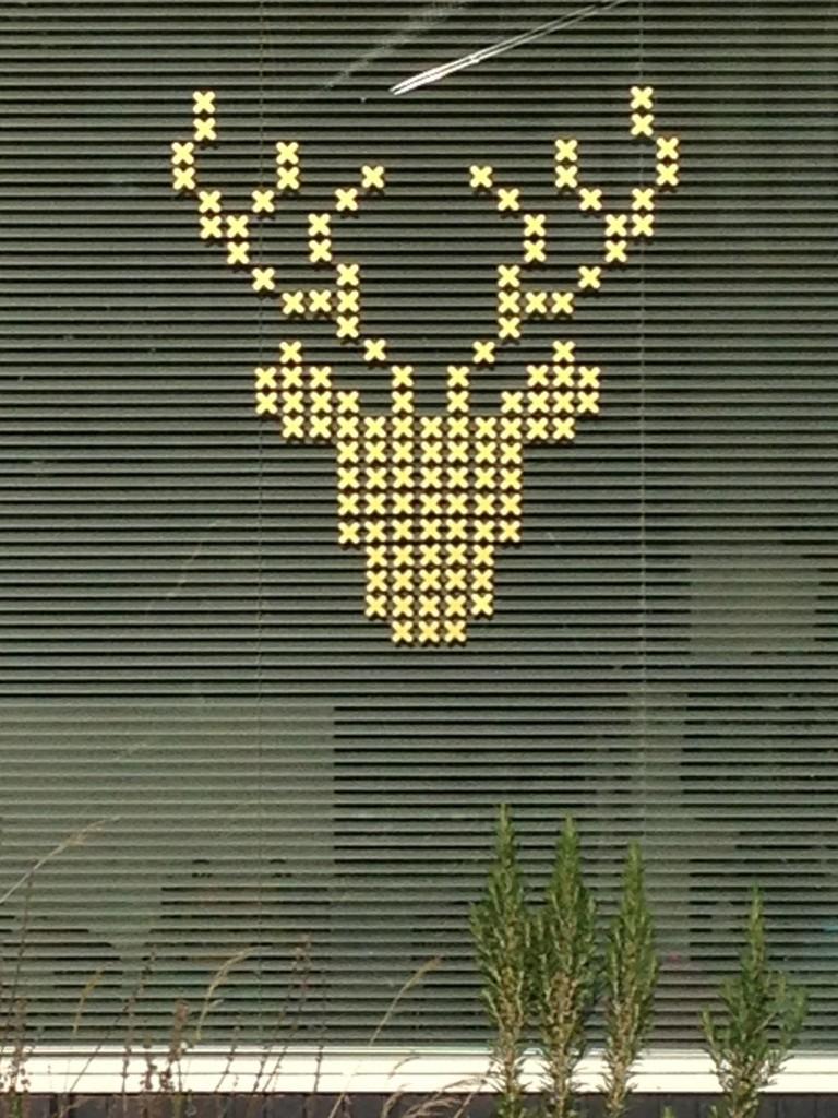 hippe muursticker deer kopen