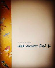 sticker meester 1