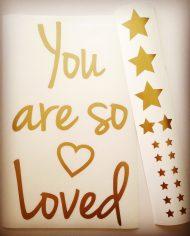 you are so loved_losse vellen_bewerkt